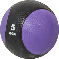 Medizinball aus Gummi Lila 5 kg