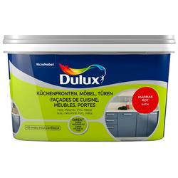 Dulux Holzlack Fresh Up, für Küchen, Möbel und Türen, madras rot, 2 l