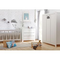 Kinderzimmer-Set Moon | 3 Teilig Kleiderschrank 3-Türig