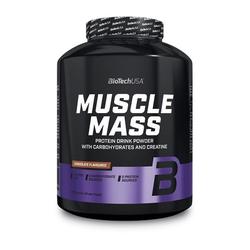 BioTech Muscle Mass - 2270g  BioTech USA (Geschmack: Erdbeere)
