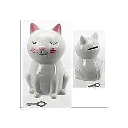 Spardose Keramik  Katze  sortiert  ca. 16 cm
