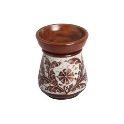 Casa Moro Duftlampe Orientalische Duftlampe Shakir-6 aus Soapstone geschnitzt 10x10x11 cm (B/T/H) Diffusor, Teelicht-Halter für Aromatherapie, Handmade Aromalampe, SL3010