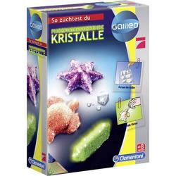 Clementoni 69487.7 Galileo-Fluoreszierende Kristalle Kristalle Experimentier-Set