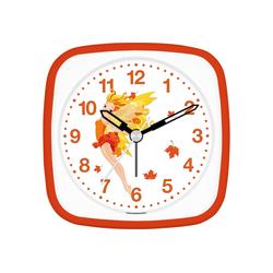 EUROTIME Kinderwecker fliegende Fee Herbstlaub, 27027-13