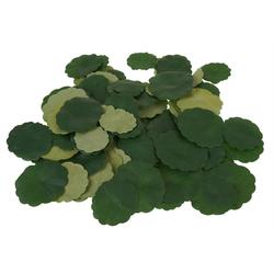Kunstpflanze Lotusblätter, VBS, schwimmend, 120 Stück