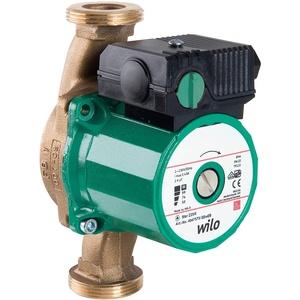Wilo-Star-Z 25/2, Trinkwasser-Zirkulationspumpe, Nassläufer, Baulänge 180 mm, G1 1⁄2