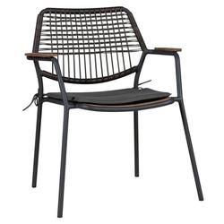 Zebra Sitzkissen zu Sessel Flix Dunkelgrau Dunkelgrau