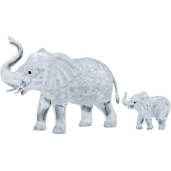HCM Kinzel 3D Crystal Puzzle Elefantenpaar