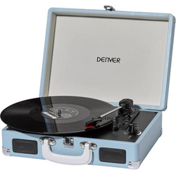 Denver VPL-120 USB-Plattenspieler Blau