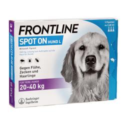 Frontline Spot On Hund 3 St 40 kg