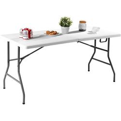 COSTWAY Klapptisch Klapptisch, Campingtisch Biertisch Tisch klappbar