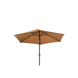 Ribelli Sonnenschirm, Sonnenschirm, taupe, 270 cm braun