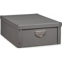 Home affaire Aufbewahrungsbox grau Boxen Truhen, Kisten Körbe Schlafzimmer Aufbewahrungsboxen