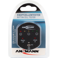 Ansmann Batterietester Button cell Messbereich (Batterietester) 1,5 V, 3V Batterie 1900-0035