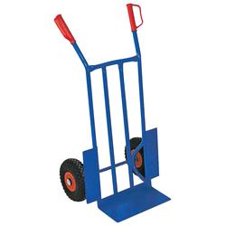 Sackkarre, BxTxH 570x500x1070 mm, Tragkraft 250 kg blau Sackkarren Transport Werkzeug Maschinen Sackkarre