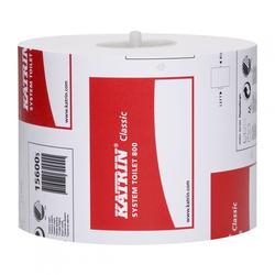 Katrin Classic System toilet 800 Toilettenpapier 2-lag., weiß, 800Blatt (1 Ka...