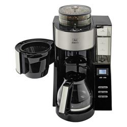 Melitta Filterkaffeemaschine AromaFresh 1021-02, Filterkaffeemaschine, integriertes Mahlwerk