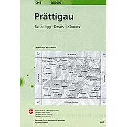 Swisstopo 1 : 50 000 Prattigau - Buch