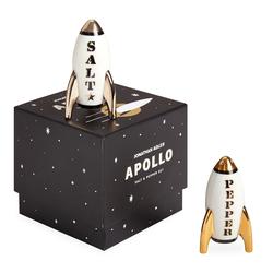 Jonathan Adler Apollo Salz- und Pfeffer Set von Jonathan Adler 9x4,5x8,9cm
