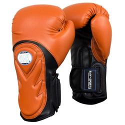 BAY-Sports Boxhandschuhe Bad Style Boxhandschuhe orange/schwarz 10 -12