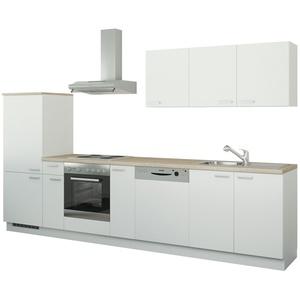 Küchenzeile mit Elektrogeräten  Coburg ¦ weiß