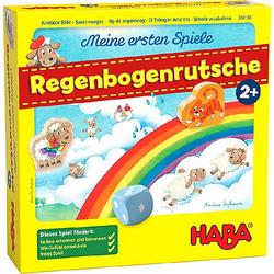 HABA 304188 Meine ersten - Regenbogenrutsche
