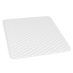 Matratzenschoner Matratzenschoner Topper Matratzen-Auflage weiß für Boxpspringbett, VitaliSpa®