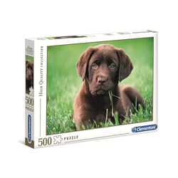 Clementoni® Puzzle High Quality Collection Chocolate Puppy 500 Teile, Puzzleteile