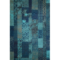 Teppich MARAKESCH türkis (BL 80x150 cm)