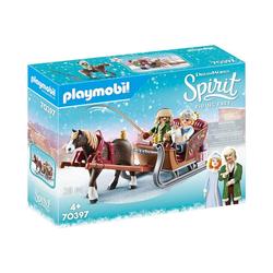 Playmobil® Spielfigur PLAYMOBIL® 70397 Winterliche Schlittenfahrt