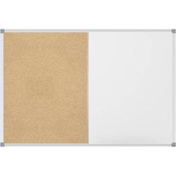 Maul Whiteboard, Pinnwand Combiboard MAULstandard (B x H) 120cm x 90cm Weiß kunststoffbeschichtet Q