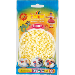 Hama - Perlenbeutel 1000 Stück creme