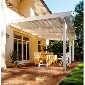 Skan Holz Sonnensegel für Breite 648 cm Tiefe 257/289/300 cm