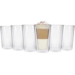 SÄNGER Gläser-Set Latte Macchiato, Glas, Doppelwandige Thermogläser