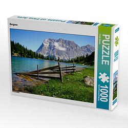 Bergsee Lege-Größe 64 x 48 cm Foto-Puzzle Bild von Kraven45 Puzzle