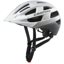 Cratoni Fahrradhelm City-Fahrradhelm Velo-X weiß 52/57 - 52 cm - 57 cm