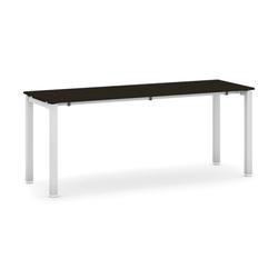 Tisch mit schwimmholzplatte, wenge 1800 x 600