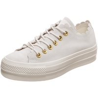 Converse Chuck Taylor All Star Frilly Thrills Lift Low white, 40