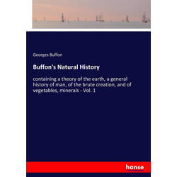 Buffon's Natural History als Buch von Georges Buffon