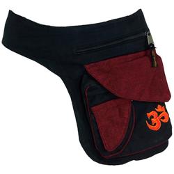 Guru-Shop Gürteltasche Stoff Sidebag & Gürteltasche, Goa Gürteltasche.. 20 cm x 25 cm x 6 cm
