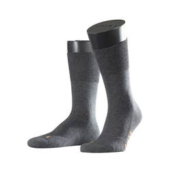 FALKE Socken Run aus wärmender Baumwolle grau 42-43