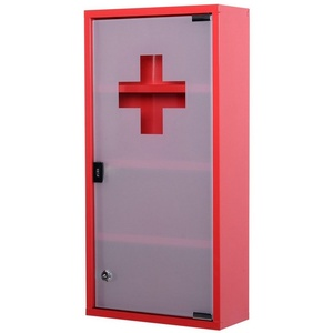 HOMCOM Medizinschrank Medizinschrank zum Abschließen