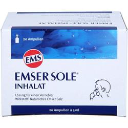 EMSER Sole Inhalat Lösung f.e.Vernebler 20 St.