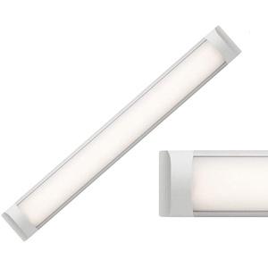 18/27/36W LED Unterbauleuchte, 60/90/120cm LED Lichtleiste Warm/Neutral/Kaltweiss 230V (120cm NW)