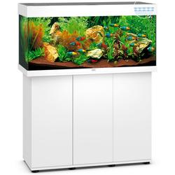 JUWEL Rio 180 LED Aquarium mit Unterschrank SBX, 101 x 41 x (50+73) cm, weiß