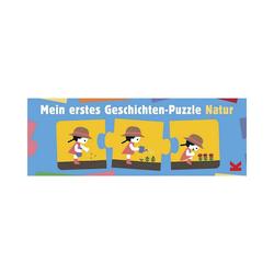 Laurence King Puzzle Mein erstes Geschichten-Puzzle Natur, Puzzleteile