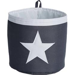 STORE IT! Aufbewahrungsbox Aufbewahrungskorb Mini Stern, grau/weiß grau