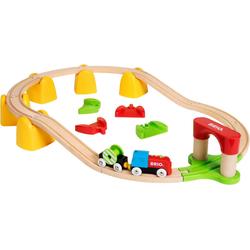 BRIO® Spielzeug-Eisenbahn Mein erstes BRIO® Bahn Set mit Batterielok, (Set)