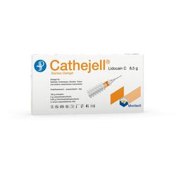 CATHEJELL Lidocain C steriles Gleitgel ZHS 8,5 g 5 St.