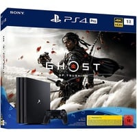 Sony PS4 Pro 1TB schwarz + Ghost of Tsushima (Bundle)